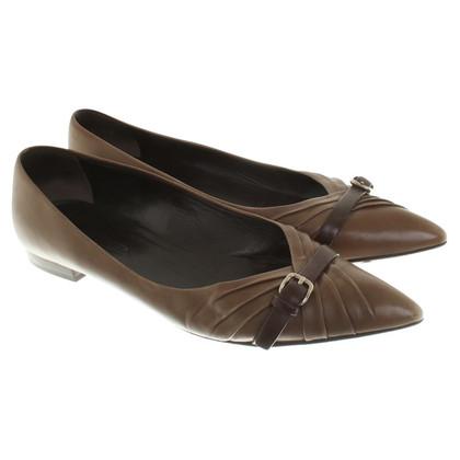 Jil Sander Ballerinas in brown