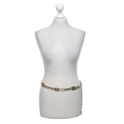 Versace cintura a catena color oro
