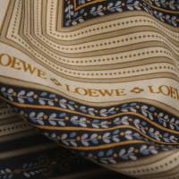 Loewe Sciarpa di seta con stampa