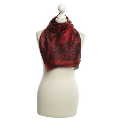 Etro Silk scarf in red / black