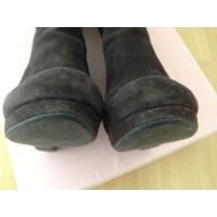 Miu Miu stivali di camoscio