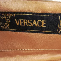 Versace in pelle clutch