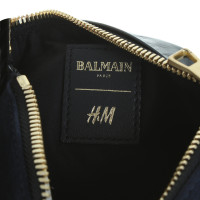 Balmain X H&M Pochette in black/blue