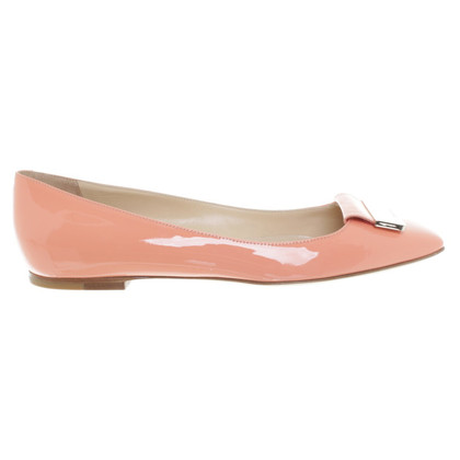 Jimmy Choo Ballerinas in Apricot