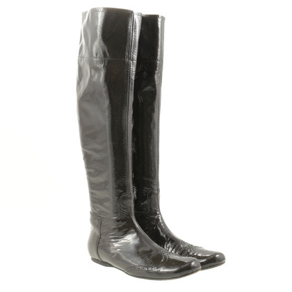 Miu Miu Boots patent leather
