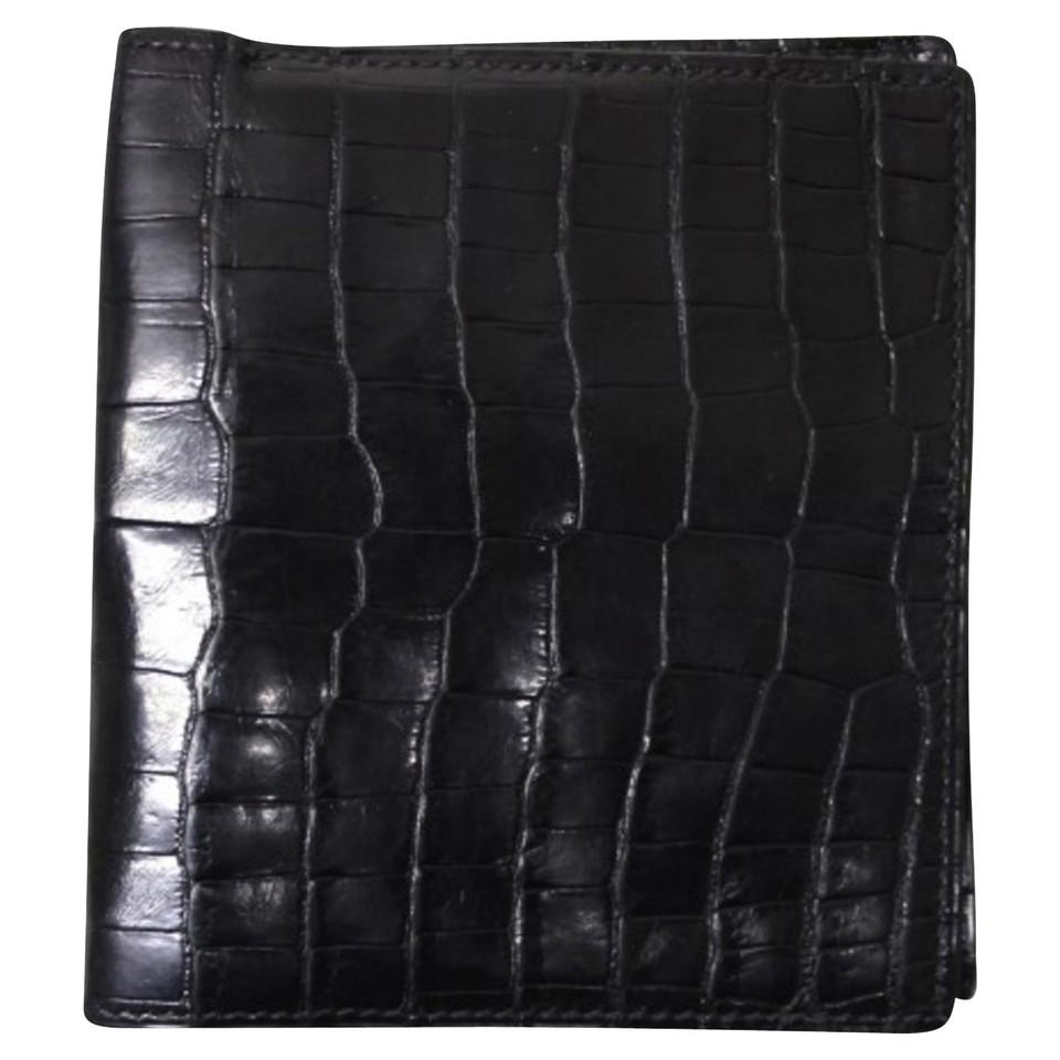 Hermès Purse made of crocodile leather