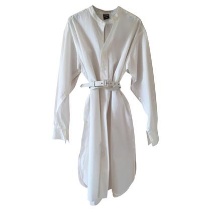 Jean Paul Gaultier Witte jurk met riem