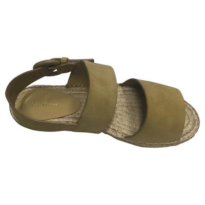 Céline sandali in camoscio
