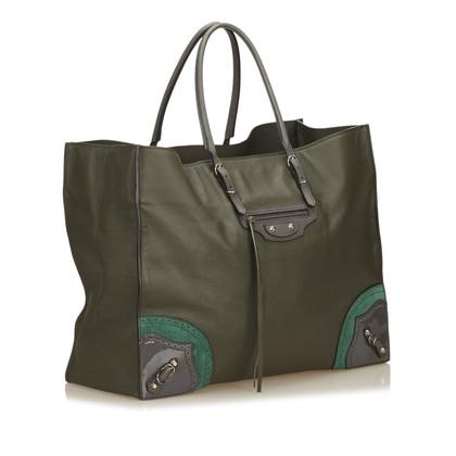 """Balenciaga """"Motocross Papier Bag"""""""