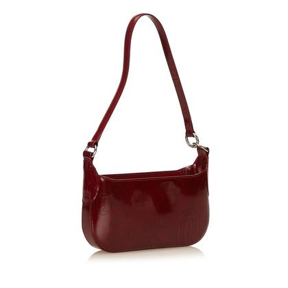 Cartier Patent leather shoulder bag