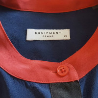 Equipment camicetta di seta