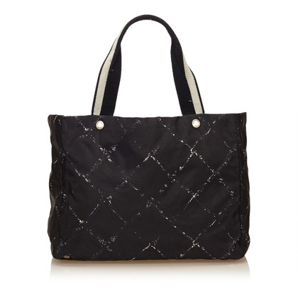Chanel Old Travel Line Tote Bag
