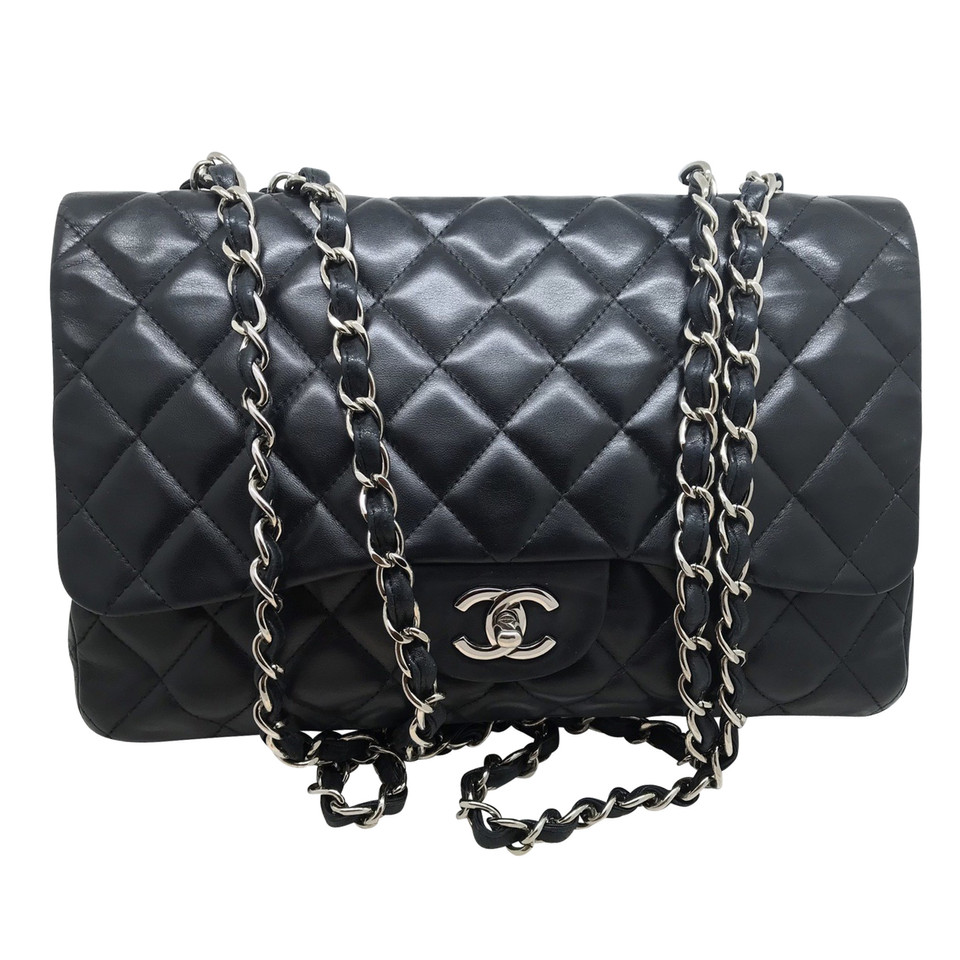 chanel jumbo flap bag second hand chanel jumbo flap. Black Bedroom Furniture Sets. Home Design Ideas