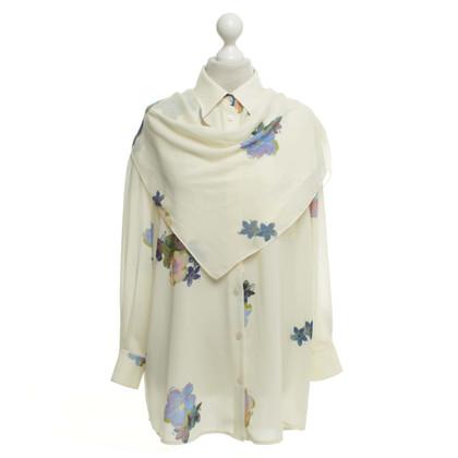 Acne Bluse mit floralem Print
