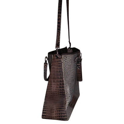 Pollini Handbag in reptile look