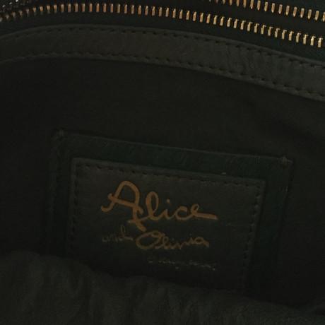 Verkauf Niedrig Kosten Alice + Olivia Grüne Umhängetasche Grün Billig Verkauf Freies Verschiffen Verkauf Echt Fzl8p4f