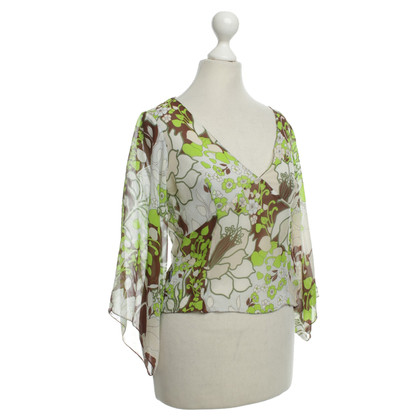 Moschino Floral blouse