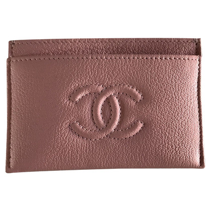 Chanel Card case in pink