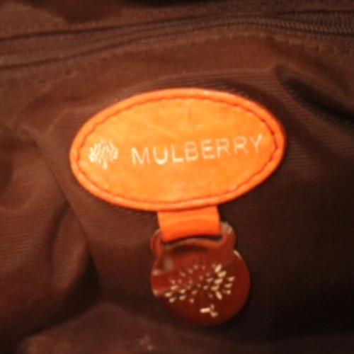 Mulberry Schultertasche Orange
