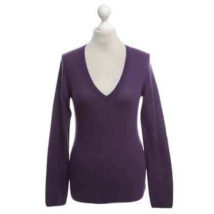 Loro Piana Kaschmir-Pullover in Violett