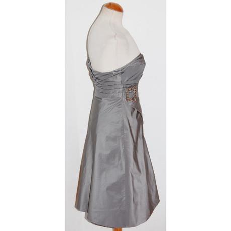 Kleid Karen Millen Millen Grau Tr盲gerloses Kleid Tr盲gerloses Grau Karen Karen Millen XzawP0xa
