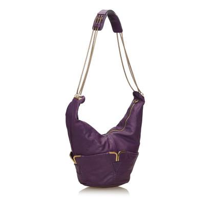 Chloé Leather Chain Shoulder Bag