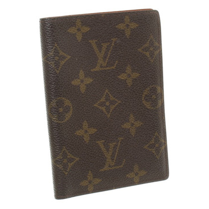 Louis Vuitton Wallet Monogram pattern