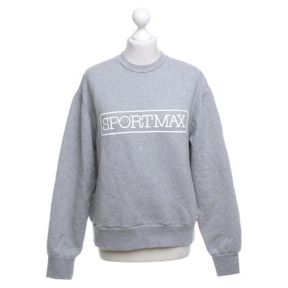 Max Mara Sweatshirt in grey