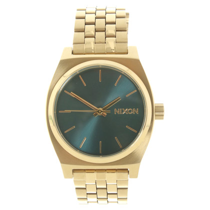 Nixon Wristwatch in gold colors