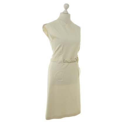 Jil Sander Creme jurk