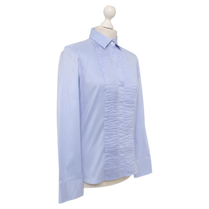 Hugo Boss Bluse in Hellblau