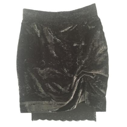 Moschino Velvet rok met glitter
