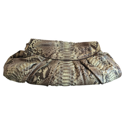 Zagliani Shoulder bag made of python leather
