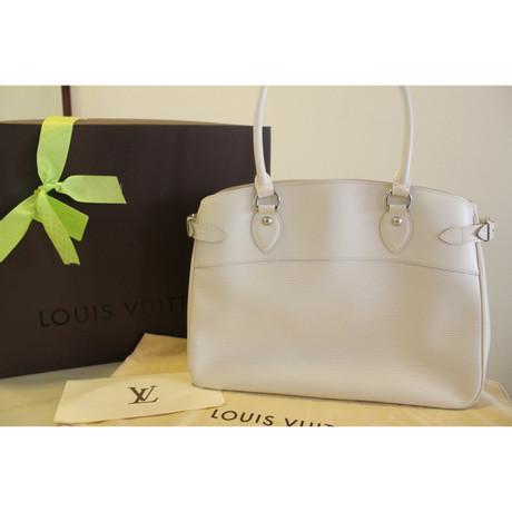 Louis Vuitton Handtasche aus Epi-Leder Weiß Aus Deutschland AI7Rg