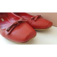 Miu Miu Miu Miu Red Ballerina/Ballet shoes
