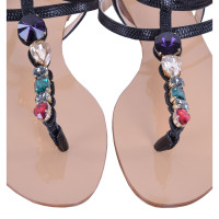 Dolce & Gabbana Flip Flops in zwart
