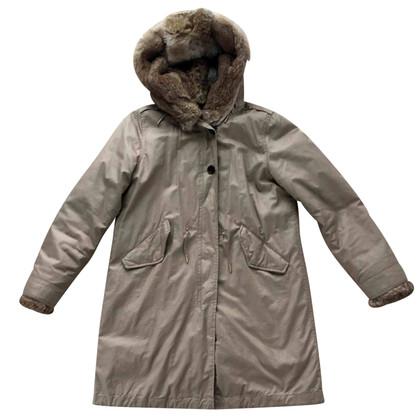 Woolrich parka d'hiver avec capuchon de fourrure