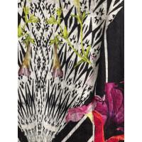 Roberto Cavalli Kleid mit Blumenmuster