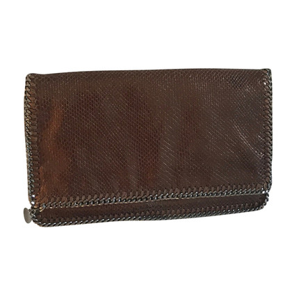 "Stella McCartney ""Falabella clutch"" in bronze metallic"