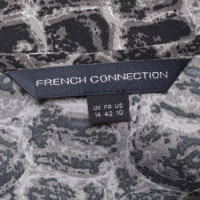 French Connection Bluse in Reptil-Optik