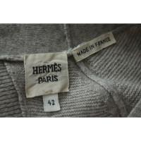 Hermès Wollkleid in Grau