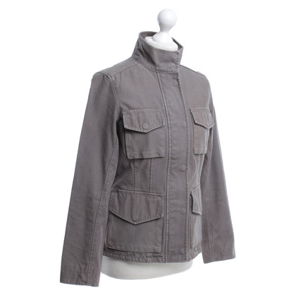 Closed Jacke in Khaki