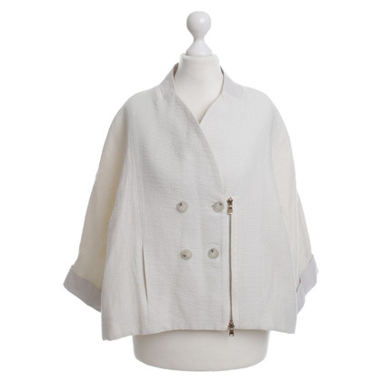 Dorothee Schumacher Short Blazer in cream