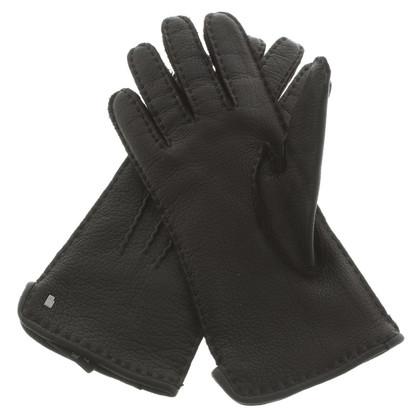 Roeckl Zwarte leerhandschoenen