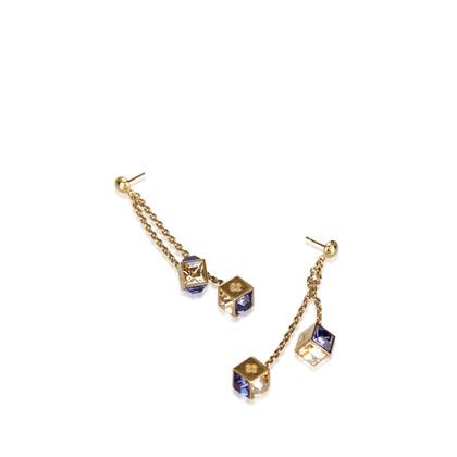 Louis Vuitton Gamble Drop Earrings