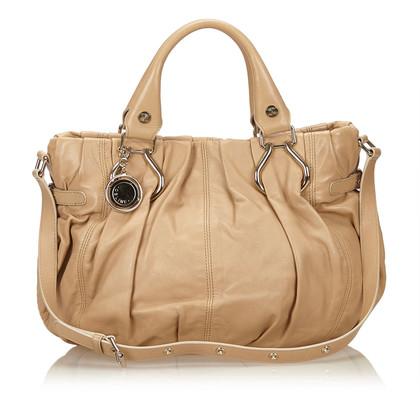 Céline Leather Shoulder Bag