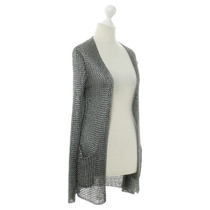 Hermès Silver cardigan