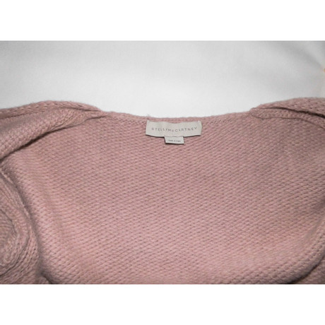 Stella McCartney Strickmantel Rosa / Pink Auslass Perfekt xtkZVoW