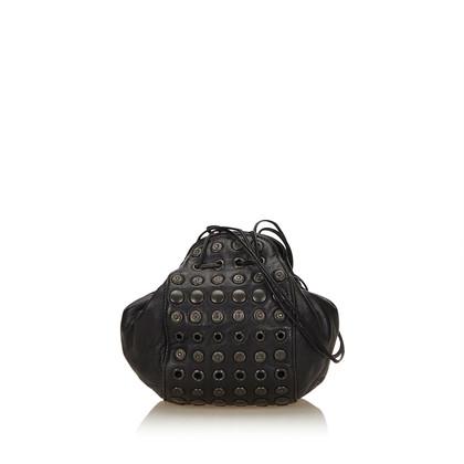 Prada Studded Leather Bag