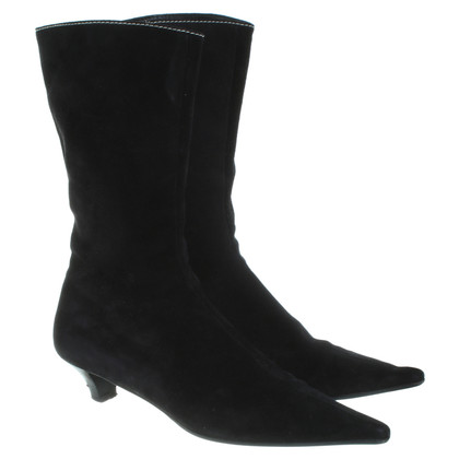 Miu Miu Ankle boots in black patent leather